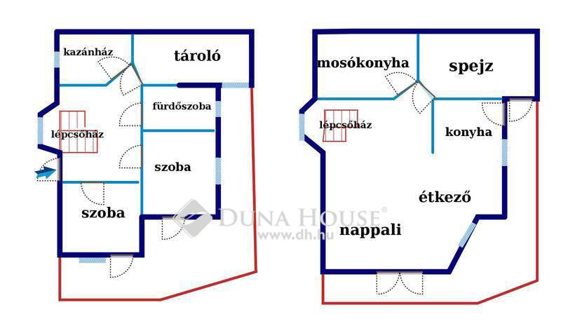 Eladó Ház, Budapest, 22 kerület, Budafokon örökpanormás, 4 szintes ház eladó