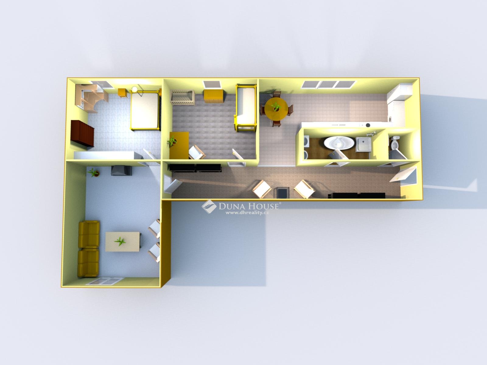 Prodej bytu, Kaplice, Okres Český Krumlov