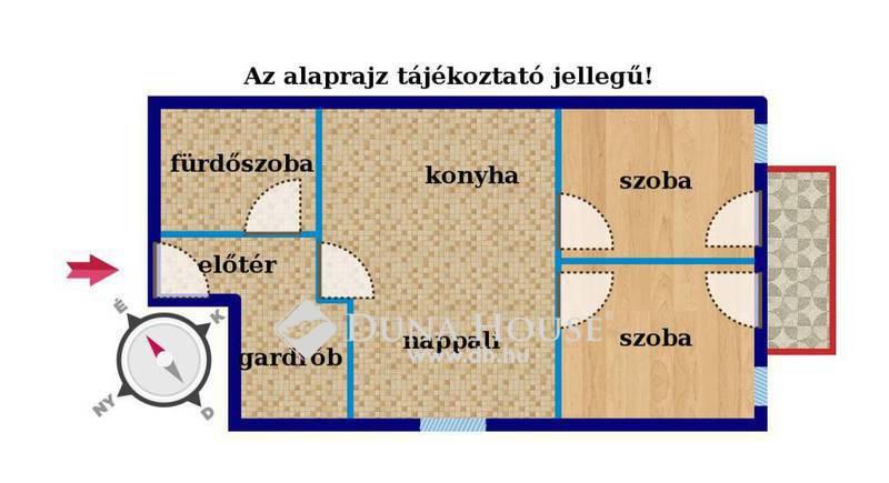 Eladó Lakás, Budapest, 18 kerület, Kiváló közlekedés 2em.6/2