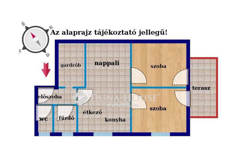 Eladó Lakás, Budapest, 18 kerület, Kiváló közlekedés 2em 4
