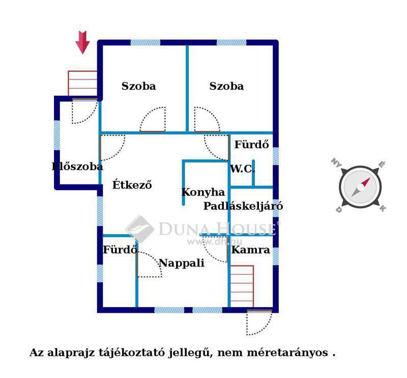 Eladó Ház, Komárom-Esztergom megye, Környe, József Attila utca