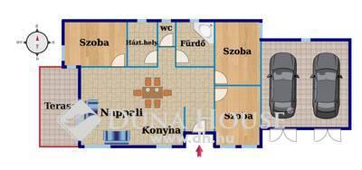 Eladó Ház, Szabolcs-Szatmár-Bereg megye, Nyíregyháza, Báthory lakópark