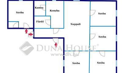 For sale House, Bács-Kiskun megye, Császártöltés, Nappali + 5 szoba + Önálló pince