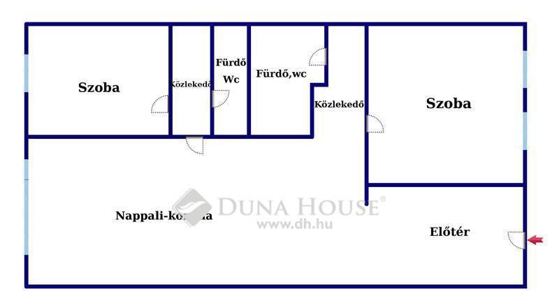 Eladó Lakás, Budapest, 7 kerület, VII. kerületben újszerű házban, kifogástalan lakás