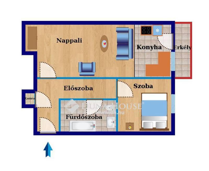 Eladó Lakás, Komárom-Esztergom megye, Tatabánya, Központhoz közeli, erkélyes lakás