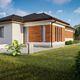 Eladó Ház, Bács-Kiskun megye, Kecskemét, Lakóparkos környezet -Új építésű nappali + 4 szoba