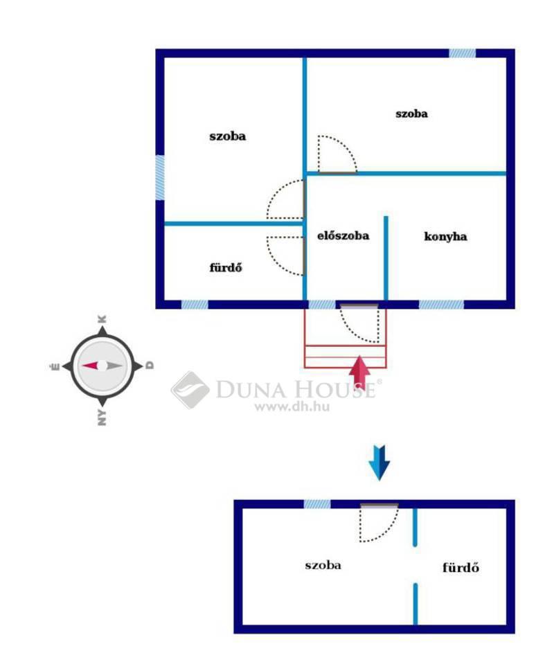 Eladó Ház, Hajdú-Bihar megye, Debrecen, Belváros, az új körút közelében