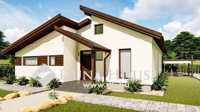 Eladó Ház, Bács-Kiskun megye, Kecskemét, 93 nm-es modern, új építésű családi ház