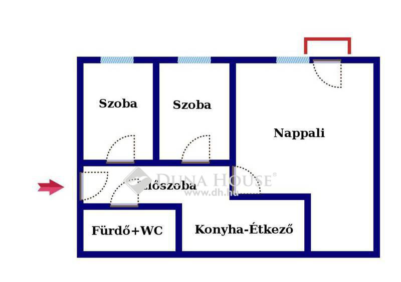 Eladó Lakás, Komárom-Esztergom megye, Tatabánya, Béla király körtéren átalakított lakás