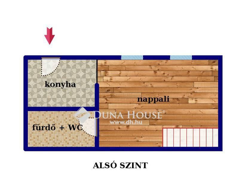 Eladó Lakás, Budapest, 7 kerület, Vagány, egyedi duplex - 3 szoba - szép ház