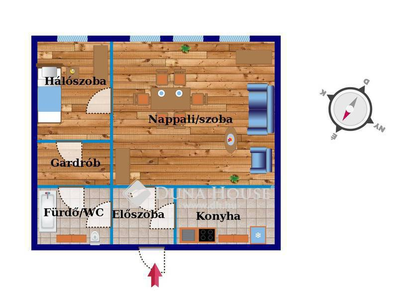 Eladó Lakás, Budapest, 21 kerület, Hévhez közeli