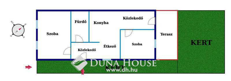 Eladó Ház, Budapest, 16 kerület, Szeparált kerttel felújított házrész
