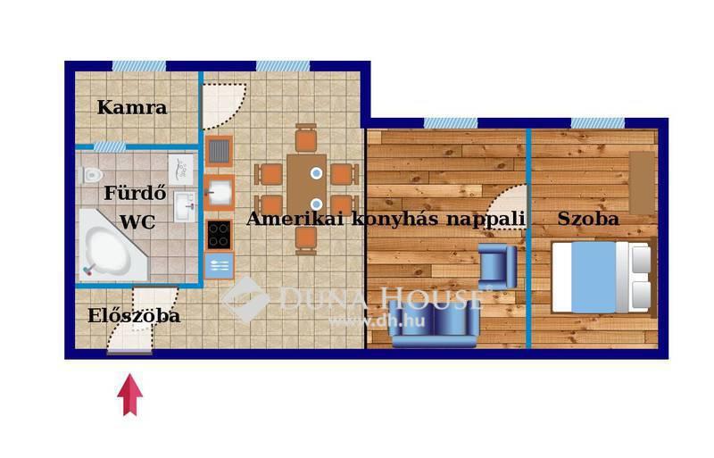 Eladó Lakás, Budapest, 13 kerület, Felújított, bútorozott lakás, autóbeállóval