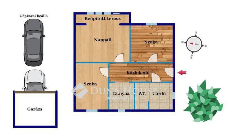 Eladó Lakás, Bács-Kiskun megye, Kecskemét, SZÉP ÁLLAPOTÚ, erkélyes lakás, garázzsal,tárolóval