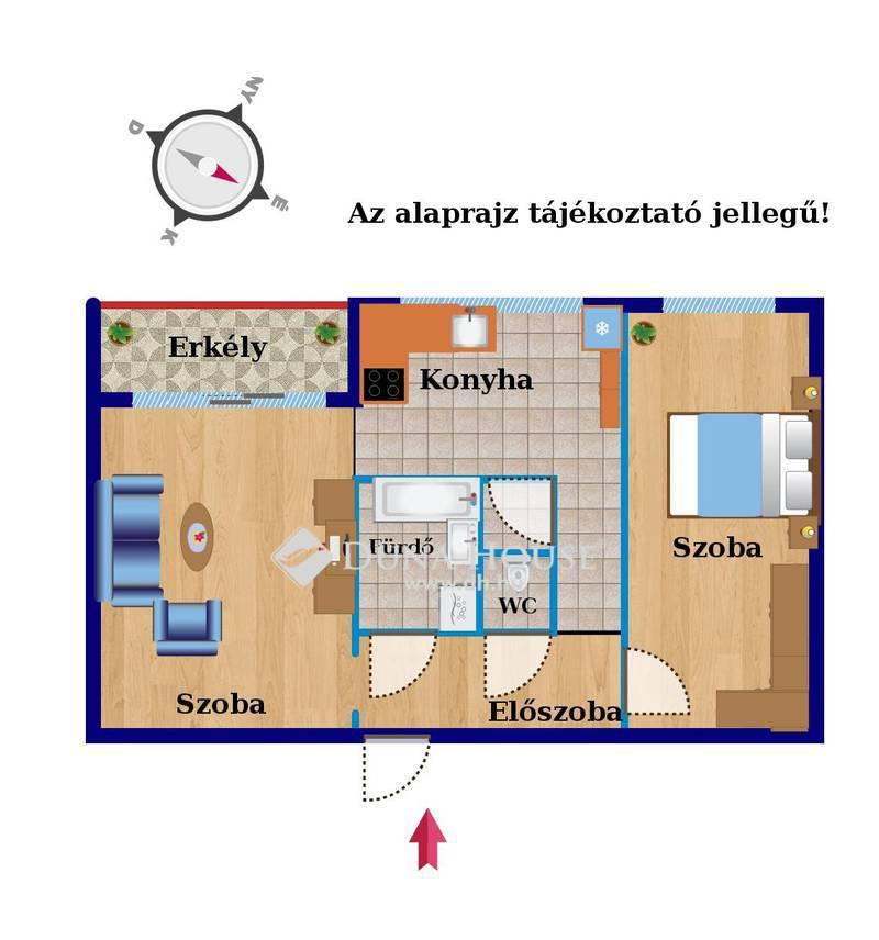 Eladó Lakás, Budapest, 11 kerület, 2 külön nyíló szoba, szuper panoráma!