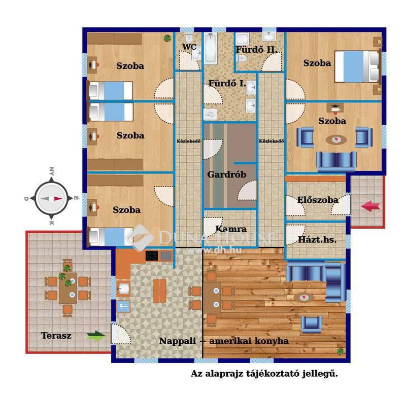 Eladó Ház, Zala megye, Zalaegerszeg, Nappali+amerikai konyha+5 szoba,új építés