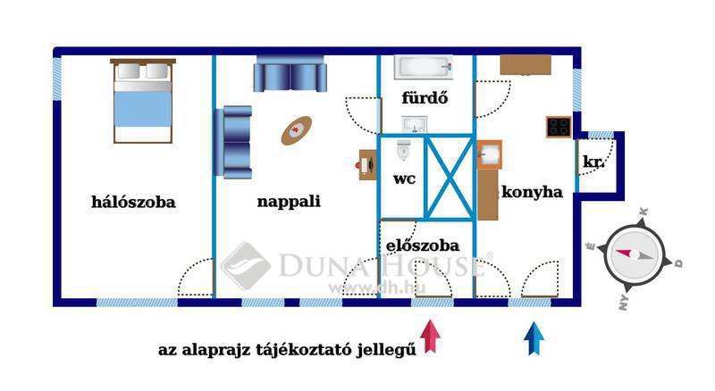 Eladó Lakás, Budapest, 7 kerület, VÁROSLIGETNÉL,KÉT LAKÁSSÁ ALAKÍTHATÓ,Marek Józsefu