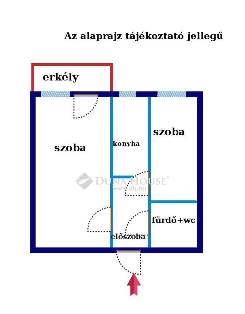 Eladó Lakás, Budapest, 19 kerület, Kispest népszerű utcájában erkélyes lakás
