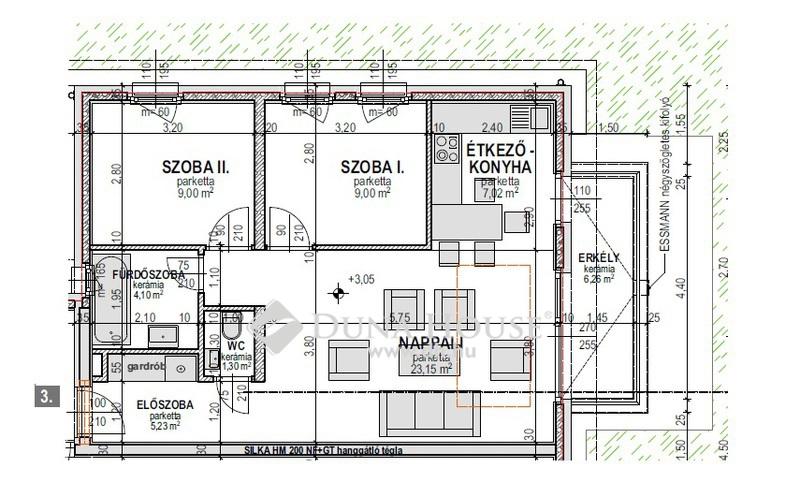 Eladó Lakás, Hajdú-Bihar megye, Debrecen, Tócó Ligetben 8 lakásos társasház