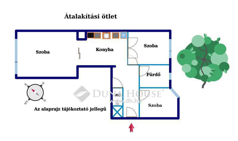 Eladó Lakás, Budapest, 11 kerület, Móricz Zs. körtér közelében, 3 szobássá alakítható