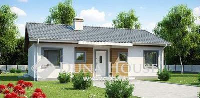 Eladó Ház, Bács-Kiskun megye, Kecskemét, Nappali + 3 hálós modern ház - Helvécia