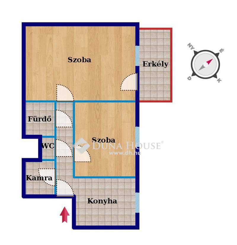 Eladó Lakás, Budapest, 10 kerület, Erkélyes 2 szobás lakás,SZUPER ÁRON Óhegyen