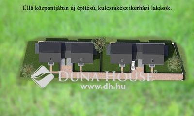Eladó Ház, Pest megye, Üllő, Új építésű környezetben garázskapcsolatos ikerház