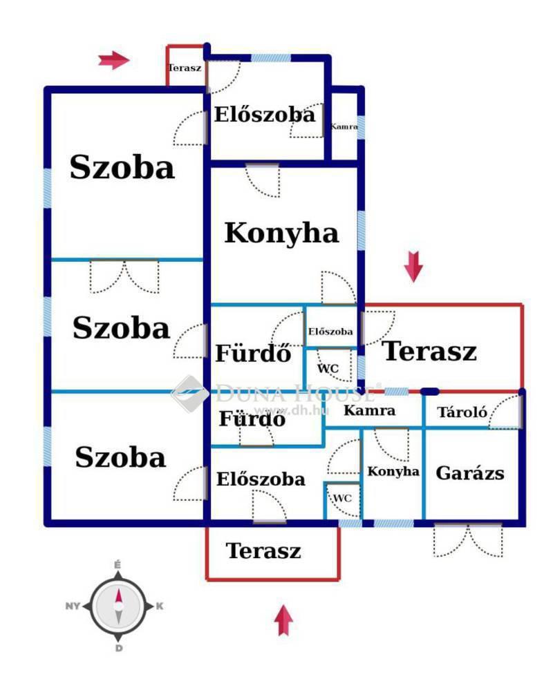 Eladó Ház, Baranya megye, Pécs, Keszüi út