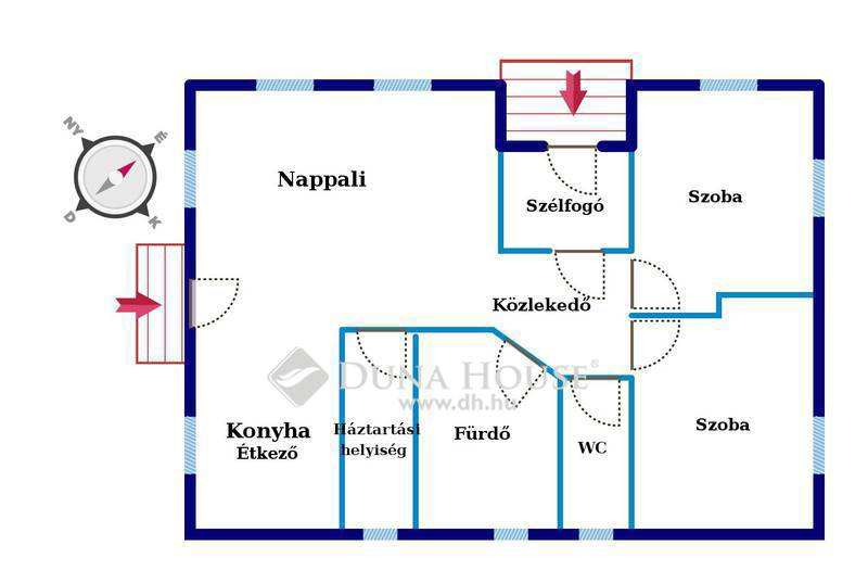 Eladó Ház, Bács-Kiskun megye, Kecskemét, Hetényegyháza legelején új osztáson