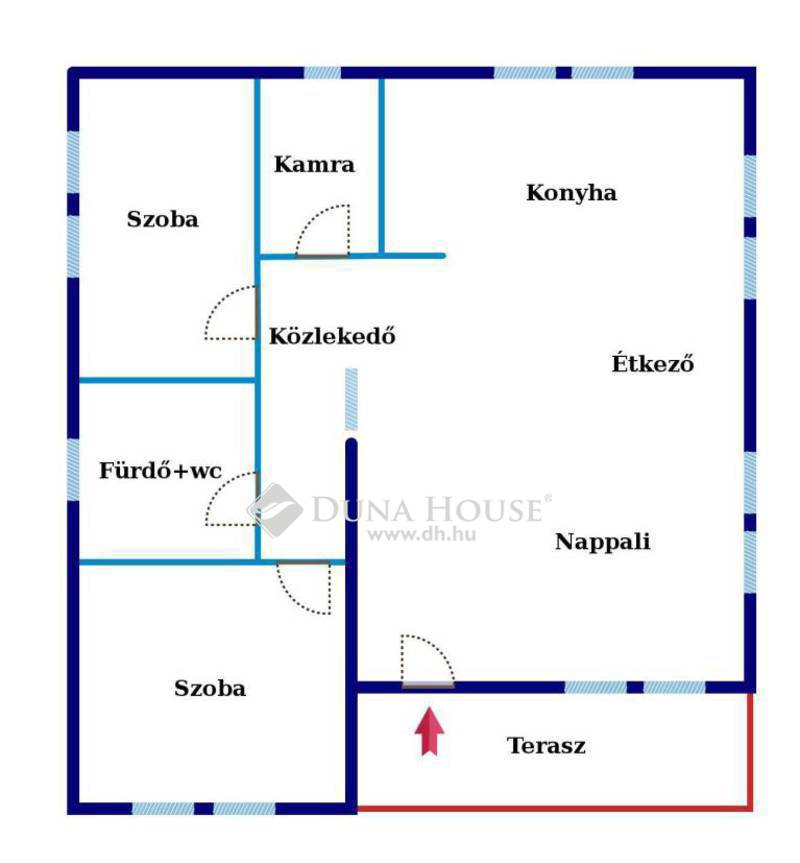 Eladó Ház, Bács-Kiskun megye, Kecskemét, Kadafalva, Újépítésű családi ház