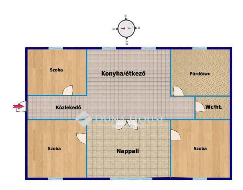 Eladó Lakás, Bács-Kiskun megye, Kecskemét, Belvárosi 4 szobás lakás, garázzsal