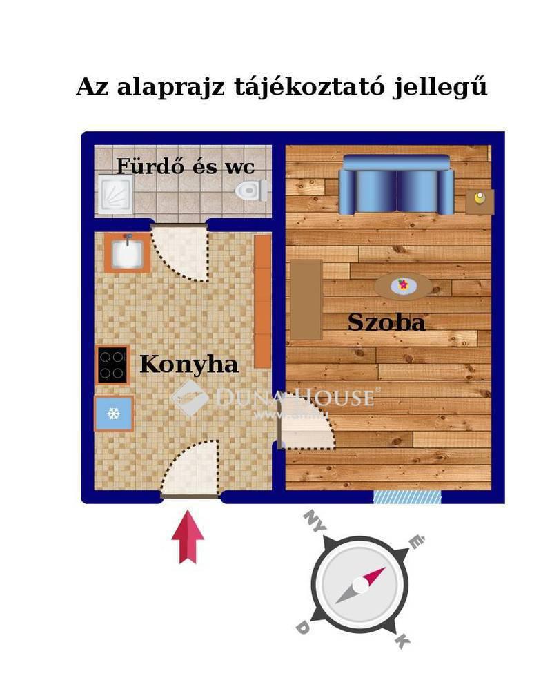 Eladó Lakás, Budapest, 8 kerület, Magdolna negyed szívében 1 szobás GALÉRIÁZHATÓ
