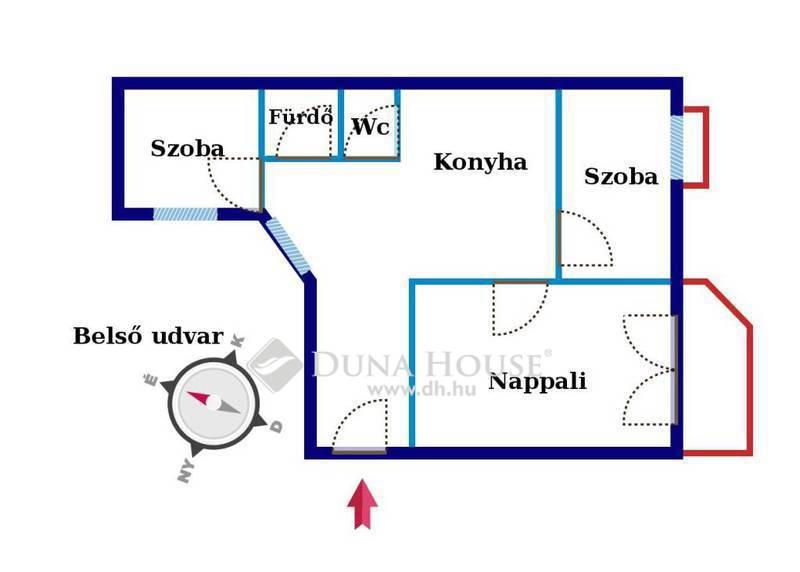 Eladó Lakás, Baranya megye, Pécs, Felsővámház utca