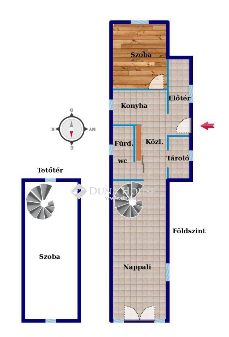Eladó Ház, Hajdú-Bihar megye, Debrecen, 3 szobás ház a Csapókertben