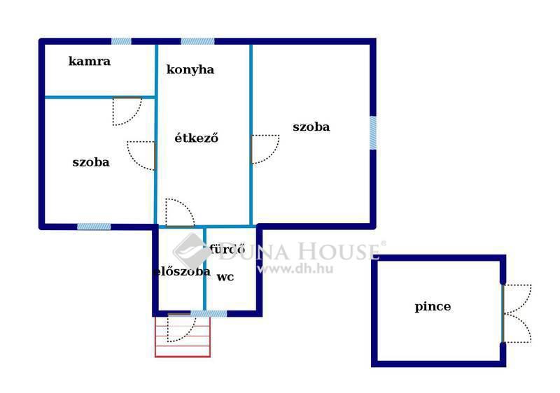 Eladó Ház, Baranya megye, Cserkút, Alkotmány utca