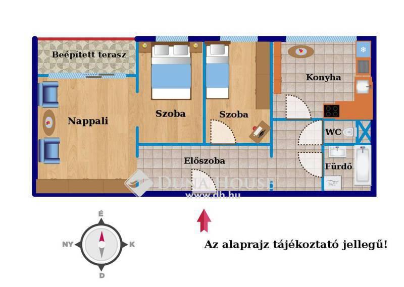 Eladó Lakás, Budapest, 11 kerület, 3 külön nyíló szoba, jó állapot, erkélyes!