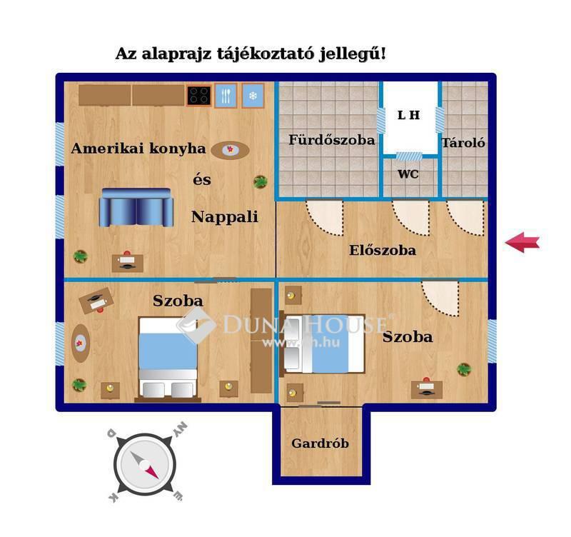 Eladó Lakás, Budapest, 7 kerület, Garay utca