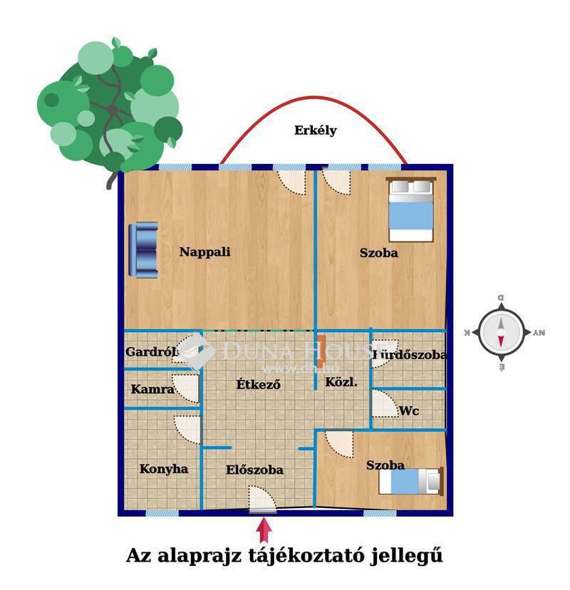Eladó Lakás, Zala megye, Keszthely, Belvárosi 1.emeleti lakás, autóbeállóval