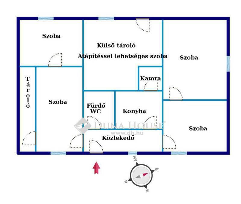 Eladó Ház, Baranya megye, Bükkösd, Kossuth Lajos utca