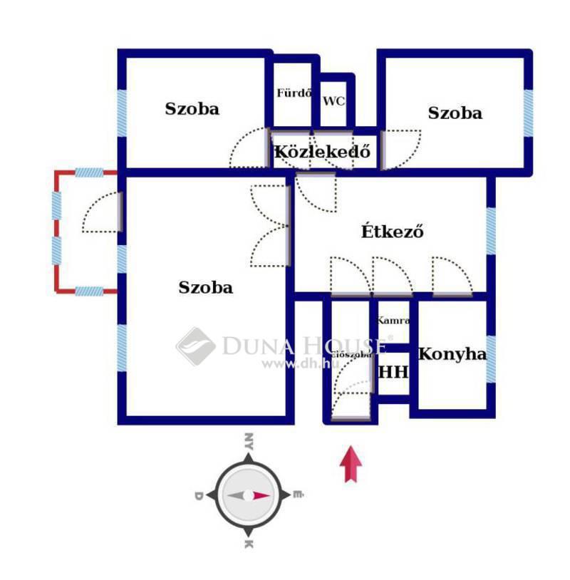 Eladó Lakás, Hajdú-Bihar megye, Debrecen, Eladó lakás a Vezér lakótelep palástján!