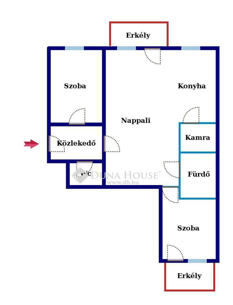 Eladó Lakás, Bács-Kiskun megye, Kecskemét, Széchenyivárosban, új építésű környéken