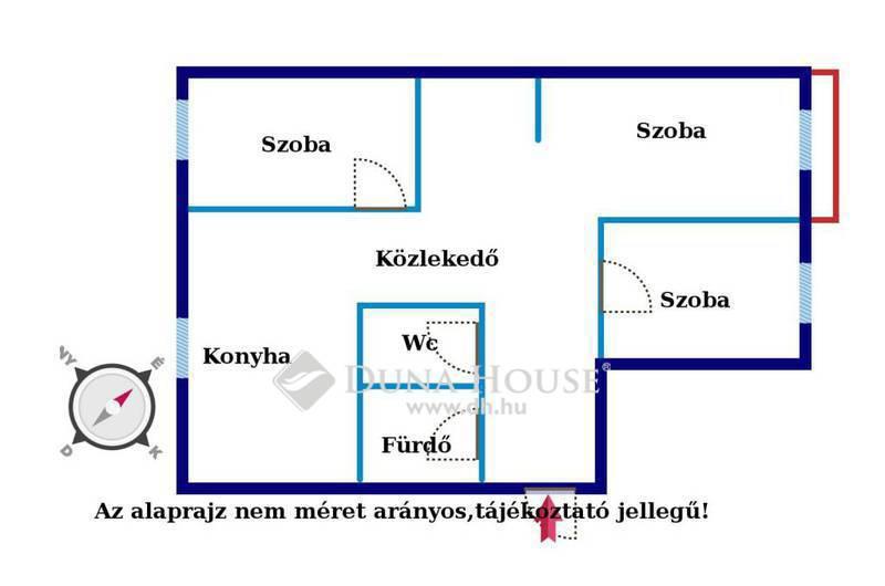 Eladó Lakás, Győr-Moson-Sopron megye, Győr, Győr-Marcal2-n felújított erkélyes lakás!