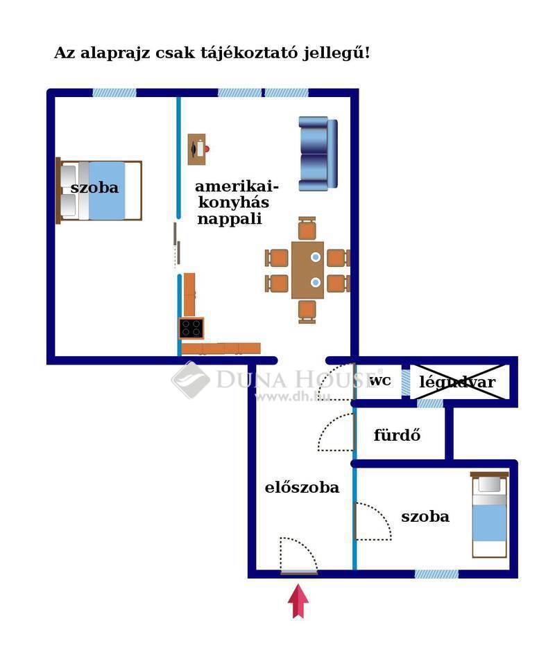 Eladó Lakás, Budapest, 9 kerület, Haller parkkal szemben 2,5 szobás felújított