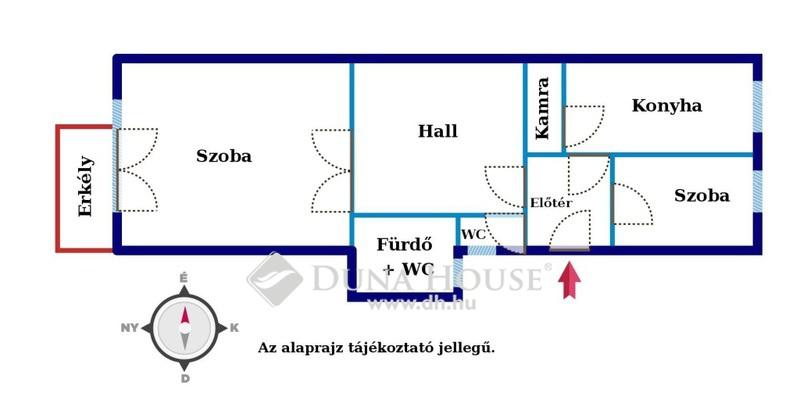 Eladó Lakás, Budapest, 13 kerület, Újlipótvárosban, erkélyes, gépk. beáll. lehetőség