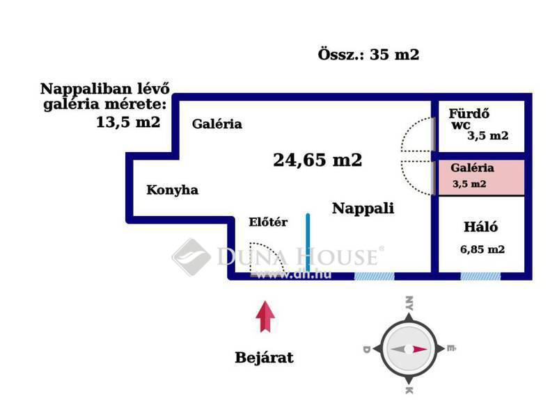 Eladó Lakás, Budapest, 8 kerület, Eladó 35m2 felújított lakás a Palotanegyedben