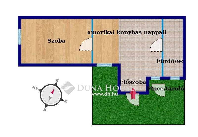 Eladó Lakás, Baranya megye, Pécs, 'Felújított házrész a Várfal közelében'