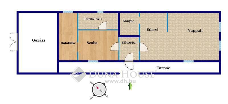 Eladó Ház, Komárom-Esztergom megye, Réde, Tornácos házikó