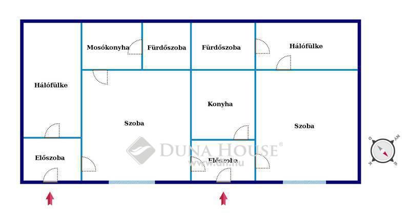 Eladó Ház, Budapest, 20 kerület, Két lakássá is alakítható házrész