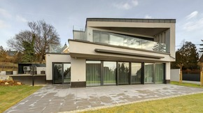Eladó ház, Szentendre, Pismányi, panorámás, minimál stílusú családi ház